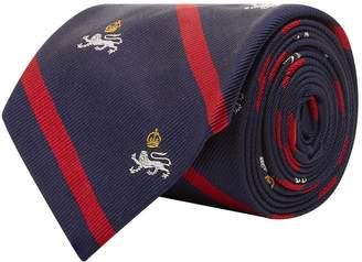 Polo Ralph Lauren Lion Stripe Silk Tie