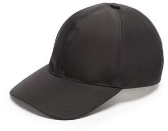 28d357cd Prada Logo Plaque Nylon Cap - Mens - Black