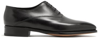 John Lobb Becketts Leather Oxford Shoes - Mens - Black