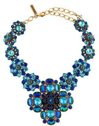 Oscar de la Renta Crystal Necklace $495 thestylecure.com