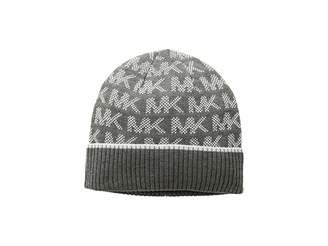 MICHAEL Michael Kors Grid Logo Cuff Hat