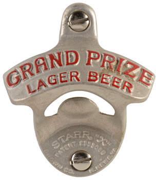 """Rejuvenation Vintage """"Grand Prize Lager"""" Bottle Opener"""