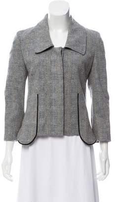 Nina Ricci Structured Tweed Blazer