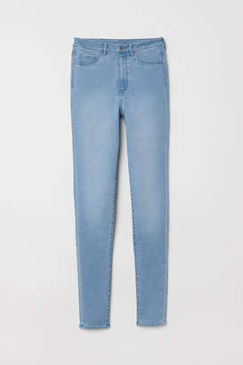 9dbd3947e9093 H&M Super Skinny High Jeggings - Blue