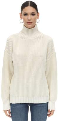 MSGM WOOL & ACRYLIC KNIT SWEATER