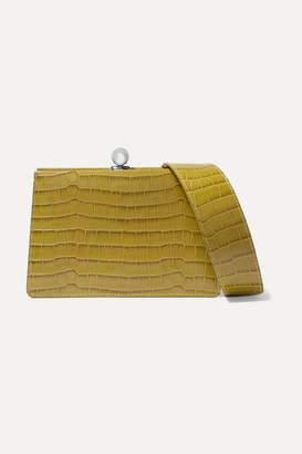 Ratio et Motus - Mini Twin Croc-effect Leather Shoulder Bag - Green