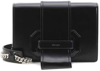 Prada Plex Ribbon leather shoulder bag