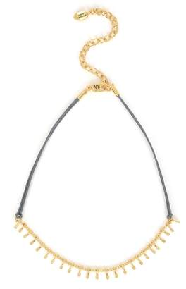 Juicy Couture Cord And Fancy Chain Choker
