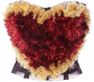 Dolce & Gabbana heart-shaped bustier top