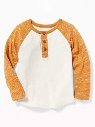 Old Navy Color-Blocked Sweater-Knit Henley for Toddler Boys