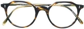 Oliver Peoples round frame glasses