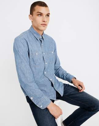 Madewell Chambray Button-Down Shirt in Lessing Wash