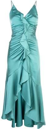 Jonathan Simkhai fitted ruffle dress