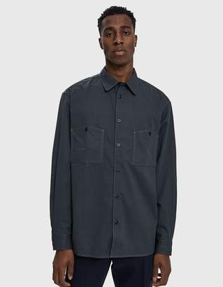 Lemaire Patch Pocket Button Up Shirt