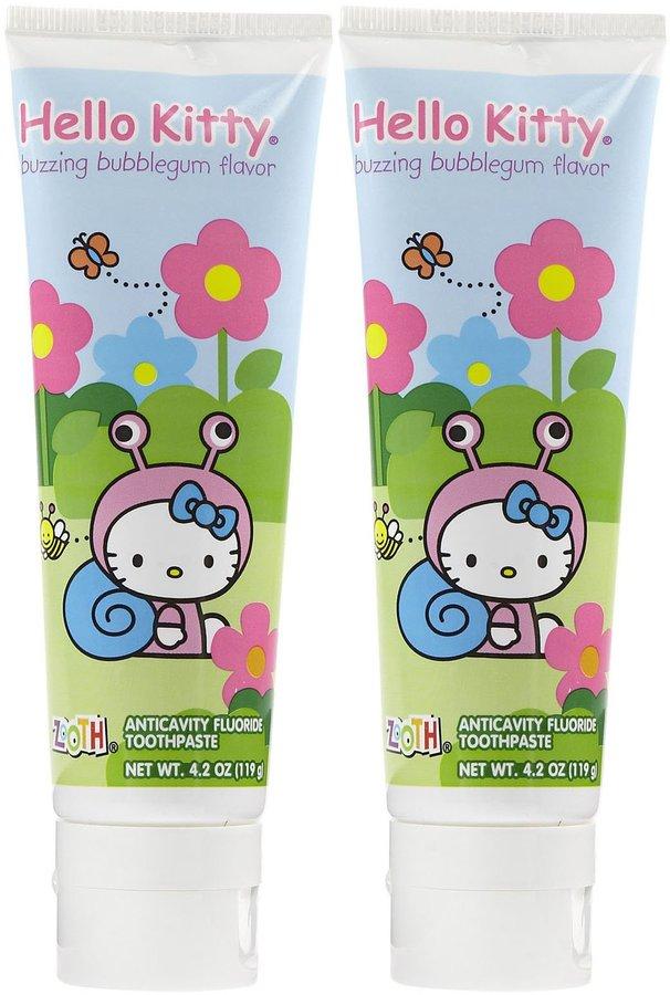 Hello Kitty Oral-B Zooth Toothpaste 2 pk
