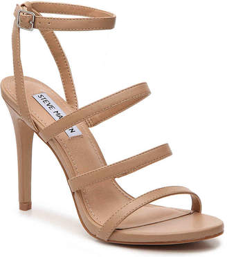 94e60eba560 Steve Madden Brown Faux Leather Women s Sandals - ShopStyle