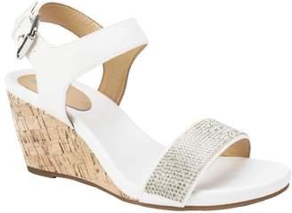 White Mountain Wedge Sandals - Phillis