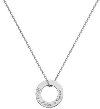 8104052f3 Merci Maman Personalized Eternity Necklace
