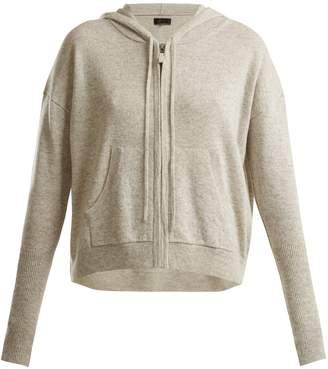Nili Lotan Zip-through hooded cashmere sweater