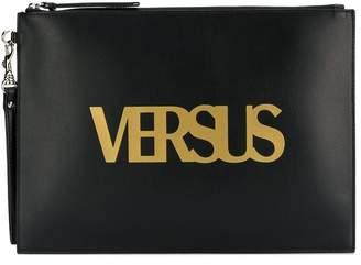 Versus logo printed clutch