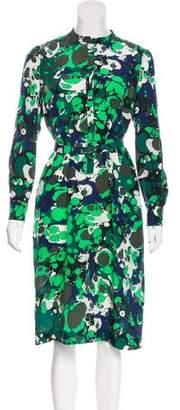 Bottega Veneta Silk Splatter Dress