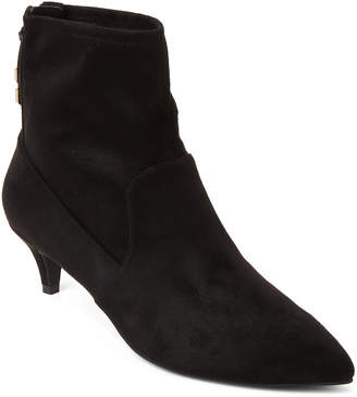 Cole Haan Black Harlow Stretch Ankle Booties