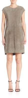 Eleventy Suede Shift Dress