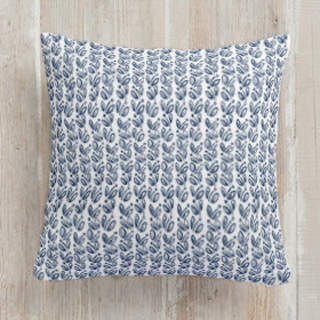 Simple Leaves Square Pillow