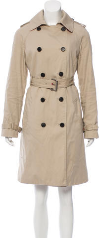 Hunter Hunter Double-Breasted Trench Coat