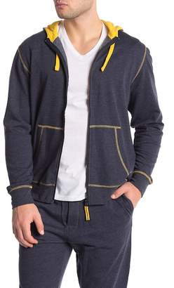 Papi Lightweight Fleece Zip-Up Hoodie