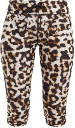 The Upside Leopard-print knee-length leggings