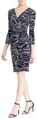 Lauren Ralph Lauren Quarter-Sleeve Sheath Dress