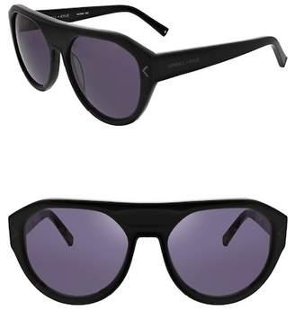 KENDALL + KYLIE Kendall & Kylie Women's Mercy Flattop Faux Aviator Sunglasses