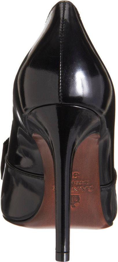 Lanvin Bow Loafer Pump