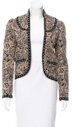 Saint Laurent Embellished Paisley Jacket