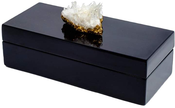Small Box with Quartz Crystal
