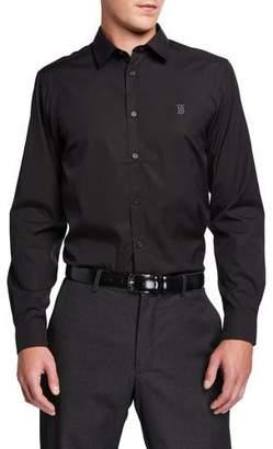 Burberry Men's Louis Classic Sport Shirt, Black