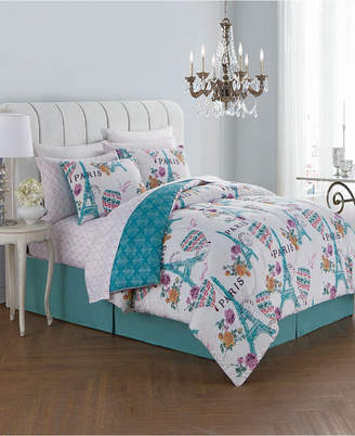 Geneva Home Fashion Darcy 8 Pc King Bed In A Bag Bedding