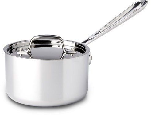 All-Clad 1-qt. Stainless Steel Stainless Sauce Pan