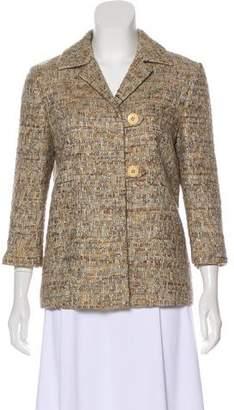 Barneys New York Barney's New York Wool-Blend Tweed Jacket