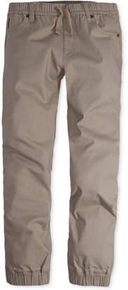 Levi's Twill Jogger Pants, Big Boys
