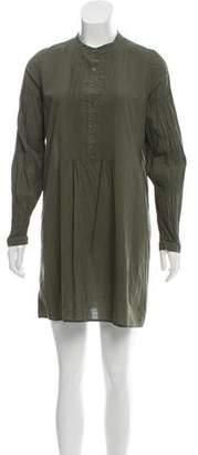 Nili Lotan Long Sleeve Mini Dress