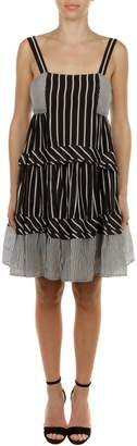 Twin-Set TwinSet Cotton And Silk Dress