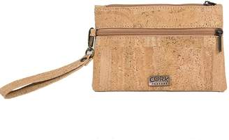 Couture Cork Wristlet by Cork Couture; Made in Portugal