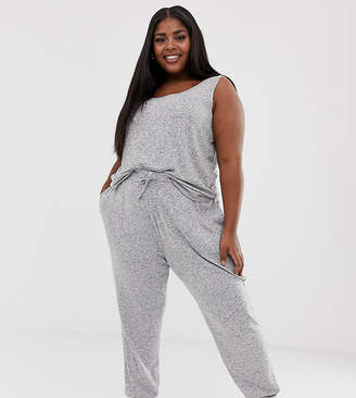 Asos DESIGN Curve mix & match lounge super soft brushed jogger