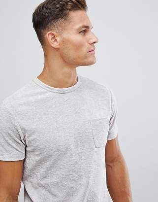 Asos Design DESIGN t-shirt with pocket in towelling