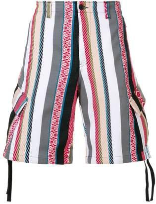 MSGM folk cargo shorts