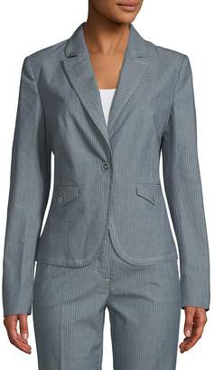 Robert Graham Women's Tristian Stripe Blazer