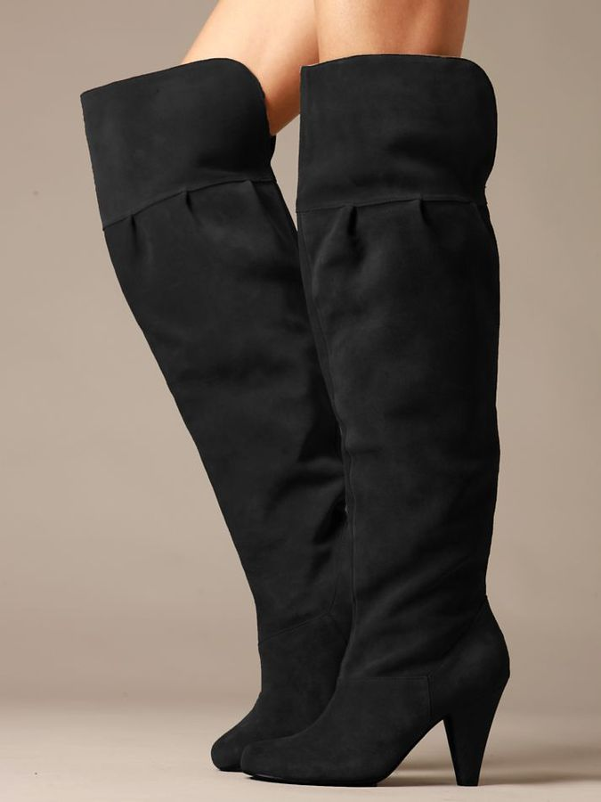 Free People Vamp Over the Knee Boots