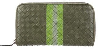 Bottega Veneta Bottega Veneta Colorblock Intrecciato Wallet